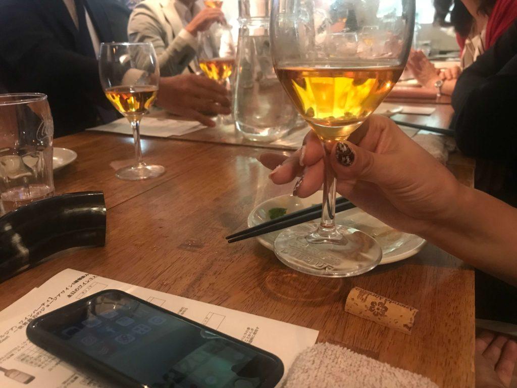 東麻布 ワイン会