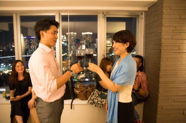 豊洲タワマンのデザイナーズラウンジで、 フライングクリパワイン会🎁  〜東京湾と都内の夜景を見ながら、 厳選した美味しいワインと創作料理で、 フライングクリスマス会🎄🍾🥂〜