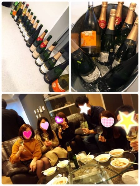 恵比寿 独身ワイン会 レポート