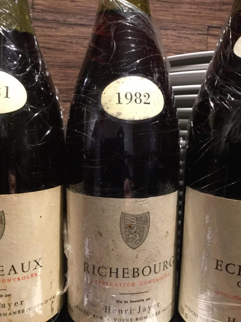ブルゴーニュワインの神様アンリジャイエのワインを飲む会