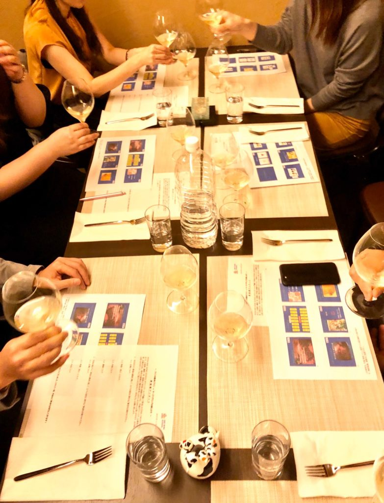 超初心者〜初心者向けのやさしいワインスクール(教室)@六本木 〜スパークリングワインで最初におぼえる知識と美味しいチーズのペアリング〜